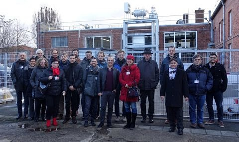 Group picture of the participants of the project meeting at AirLiquide in Frankfurt